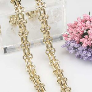 Metal chains, High quality metal alloy, Gold colour, 50cm, Diameter 12mm, [SKS036]